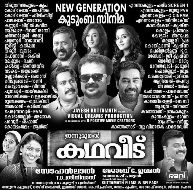 Kadhaveedu Theatre List